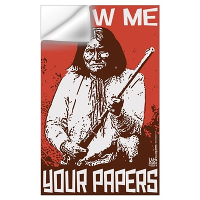 SHOW ME YOUR PAPERS! Wall Decal