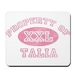 Property of Talia Mousepad