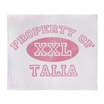 Property of Talia Throw Blanket