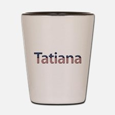 Tatiana Stars and Stripes Shot Glass