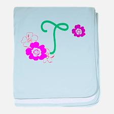 T baby blanket