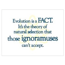 Evolution is a FACT Poster