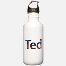 Ted Stars and Stripes Water Bottle