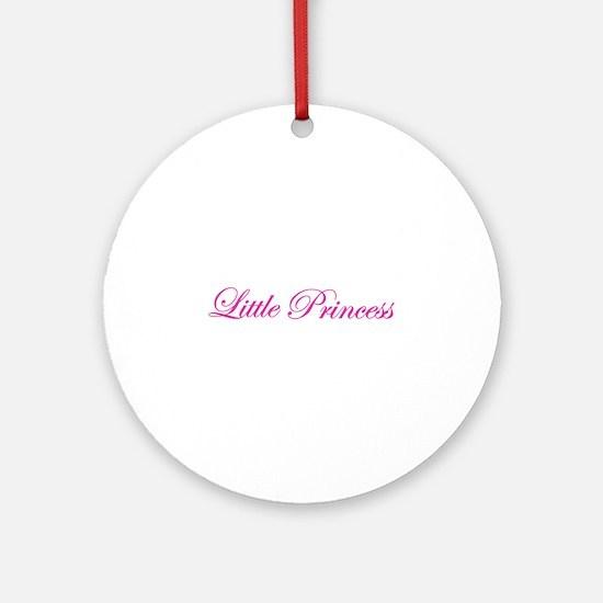 little princess Ornament (Round)