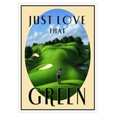 Just Love That Green 3 Poster