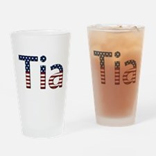 Tia Stars and Stripes Drinking Glass