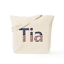 Tia Stars and Stripes Tote Bag