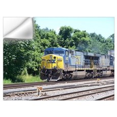 CSX Q190 Doublestack Train Wall Decal