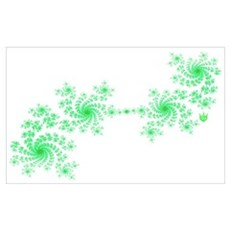 horizontal green2 Poster