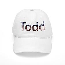 Todd Stars and Stripes Baseball Baseball Cap
