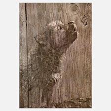 Wood Wolf Pup - Wolf Art