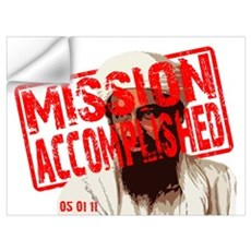 Mission Accomplished Wall Decal
