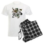 Anderson Tartan Lion Men's Light Pajamas - Scottish lion rampant with the Anderson clan tartan and a banner with the family name. - Availble Sizes:Small,Medium,Large,X-Large,2X-Large (+$3.00) - Availble Colors: With Checker Pant,With Blue Strpe Pant,With Grey Camo Pant,With Red Plaid Pant,With Democrat Pant,With Republican Pant