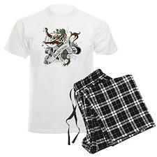 Anderson Tartan Lion Pajamas