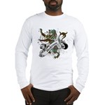 Anderson Tartan Lion Long Sleeve T-Shirt - Scottish lion rampant with the Anderson clan tartan and a banner with the family name. - Availble Sizes:Small,Medium,Large,X-Large,2X-Large (+$3.00),3X-Large (+$3.00) - Availble Colors: White,Ash Grey