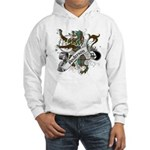 Anderson Tartan Lion Hooded Sweatshirt - Scottish lion rampant with the Anderson clan tartan and a banner with the family name. - Availble Sizes:Small,Medium,Large,X-Large,2X-Large (+$3.00) - Availble Colors: White,Heather Grey
