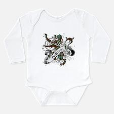 Anderson Tartan Lion Long Sleeve Infant Bodysuit