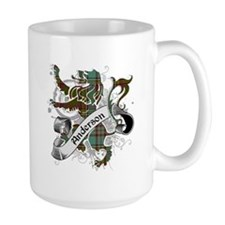 Anderson Tartan Lion Mug