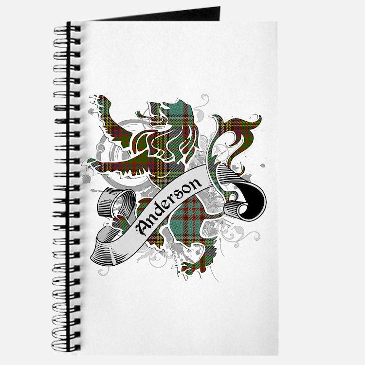 Anderson Tartan Lion Journal