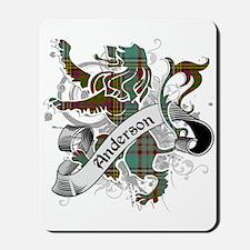 Anderson Tartan Lion Mousepad