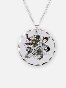 Anderson Tartan Lion Necklace