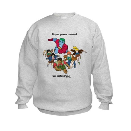 Captain Planet Kids Sweatshirt