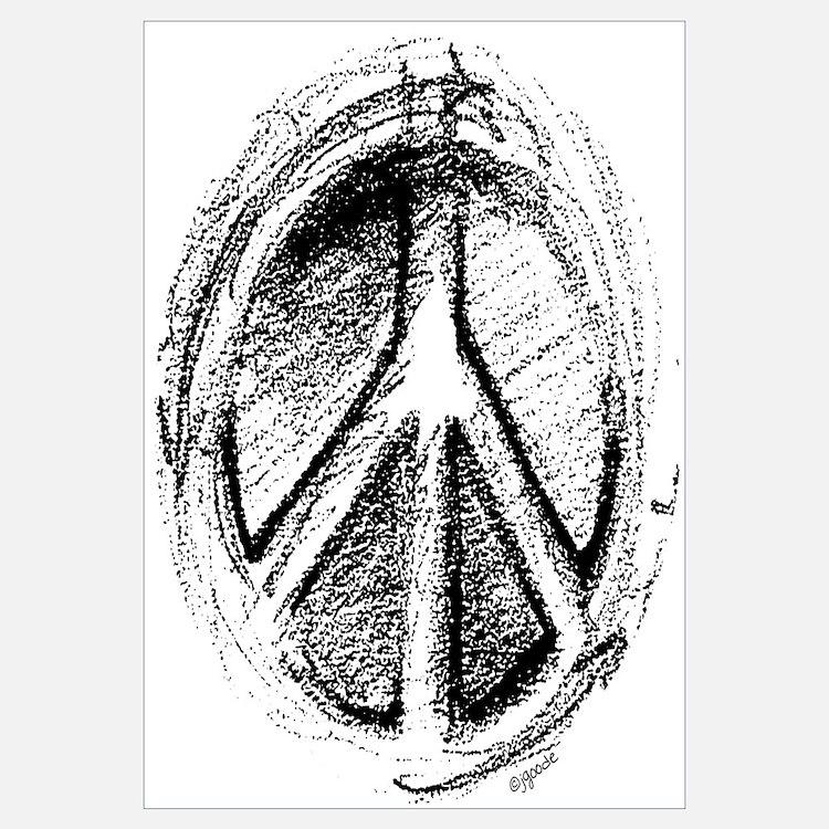 Urban Peace Sign Sketch