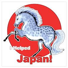 I Helped Japan Poster
