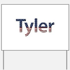 Tyler Stars and Stripes Yard Sign