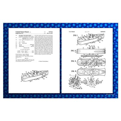 Baking Powder Submarine Patent Poster