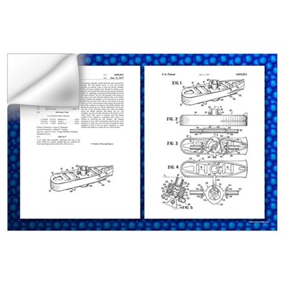 Baking Powder Submarine Patent Wall Decal