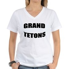 Grand Teton Text Shirt