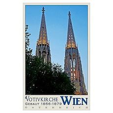 Vienna Votivkirche Poster