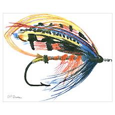 Fishing Lure Art Poster