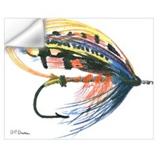 Fishing Lure Art Wall Decal