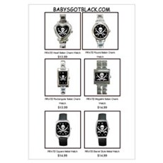 PIRATE WATCH CATALOG Framed Print
