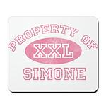 Property of Simone Mousepad