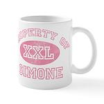 Property of Simone Mug