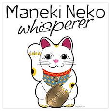 Maneki Neko Whisperer Poster