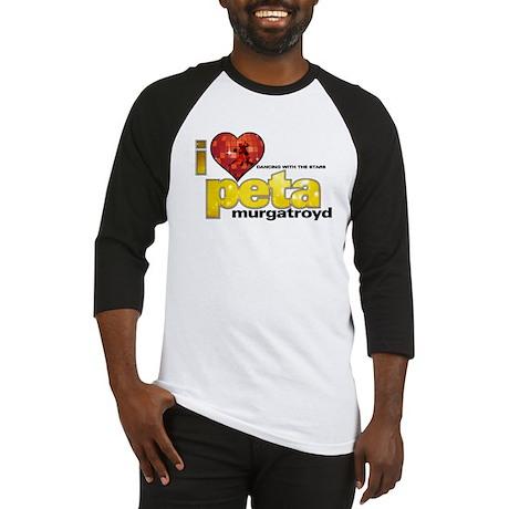 I Heart Peta Murgatroyd Baseball Jersey