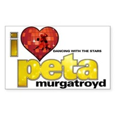 I Heart Peta Murgatroyd Rectangle Sticker