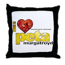 I Heart Peta Murgatroyd Throw Pillow