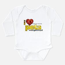 I Heart Peta Murgatroyd Long Sleeve Infant Bodysui