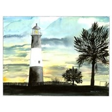 Tybee Island Lighthouse Fine Poster