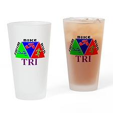 TRI Triathlon SBR Figs Drinking Glass