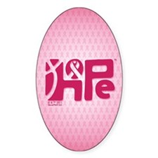 Think Hope (DkPink/Pink) Decal