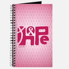 Think Hope (DkPink/Pink) Journal