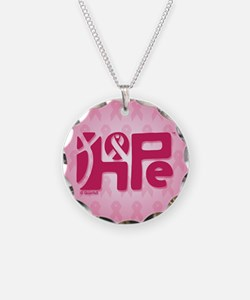 Think Hope (DkPink/Pink) Necklace