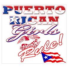 Puerto rican girl Poster