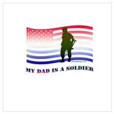MY DAD IS A SOLDIER Poster